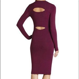 Bcbgmaxazria CutOut Back Midi Dress - 70% off MSRP